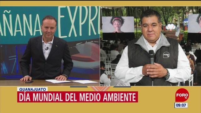 Conmemoran en Guanajuato el Día Mundial del Medio Ambiente