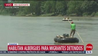 FOTO: ¿Cuál es la situación de migrantes detenidos en Chiapas?, 16 Junio 2019