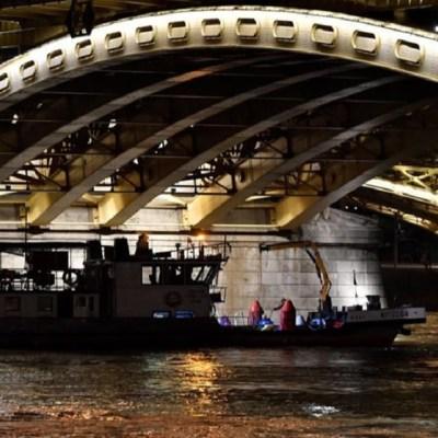 Suman 15 muertos por naufragio en el Danubio