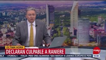 FOTO: Declaran culpable a Raniere por tráfico sexual