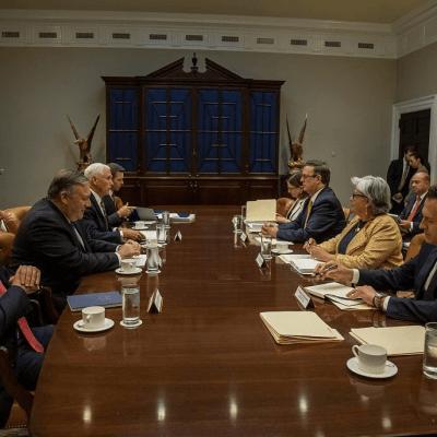 Inicia nuevo encuentro entre delegaciones de México y EU por aranceles