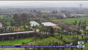 Demolerán en Xochimilco casas en la zona chinampera