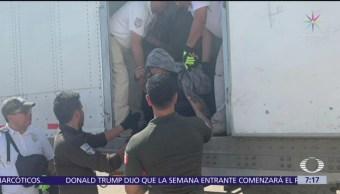 Denuncian a empresas que trafican con migrantes