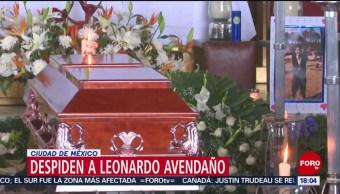 Foto: Despiden Hugo Leonardo Avendaño Exigen Justicia 14 Junio 2019