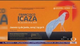 Despierta con Cultura: Francisco Icaza, me quiero ir al mar