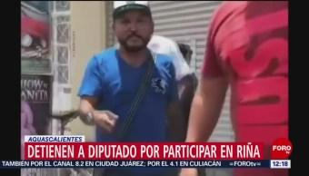 FOTO: Detienen a 'El Mijis' en Aguascalientes por riña afuera de casilla electoral