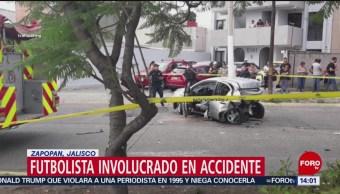 FOTO: Detienen a futbolista Joao Maleck en Jalisco, 23 Junio 2019