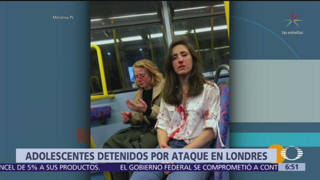 Detienen en Londres a 5 adolescentes por agredir a pareja de lesbianas