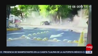 Difunden nuevo video de accidente vehicular provocado por Joao Maleck en Jalisco