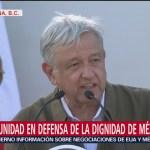 Foto: Discurso AMLO Acto Unidad Tijuana 7 Junio 2019