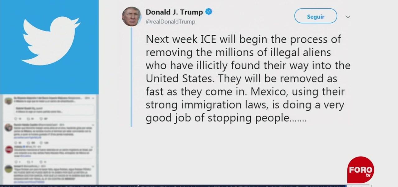 Foto: Donald Trump Migrantes Estados Unidos ICE 17 Junio 2019