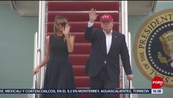 Foto: Trump Estados Unidos Europa 7 Junio 2019