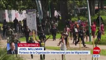 Durante 2019 creció el flujo de migrantes africanos, señala Joel Millman