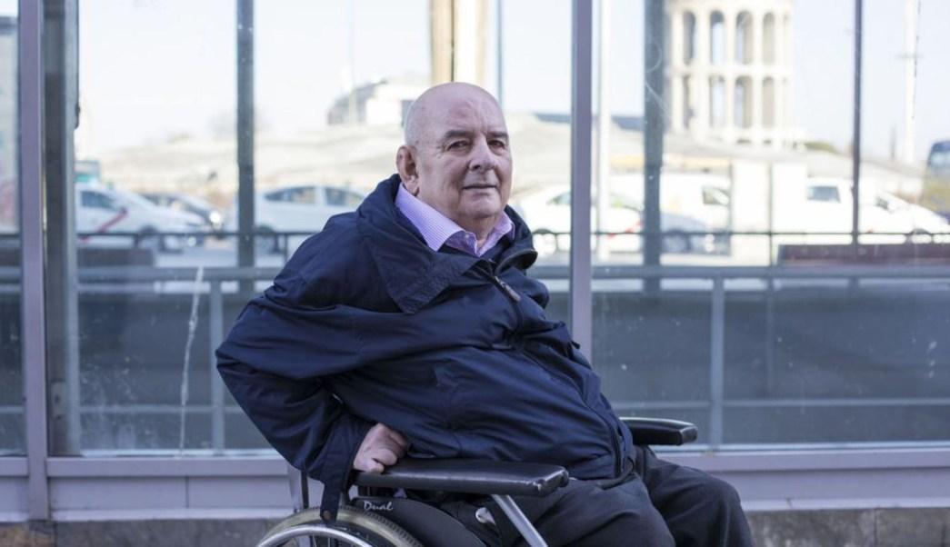 Foto: El fiscal español Eduardo Fungairiño, fotografiado en la Plaza Castilla de Madrid, 30 junio2019
