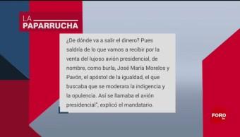 Foto: Avión Presidencial Noticias Falsas 19 Junio 2019