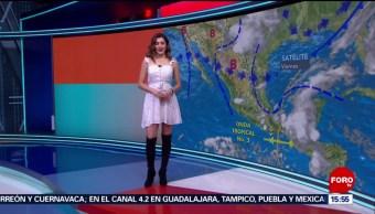 Foto: El Clima 'A las Tres' con Daniela Álvarez del 14 de junio de 2019