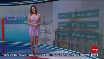 Foto: El Clima A las Tres con Daniela Álvarez del 19 de junio de 2019