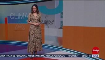 Foto: El Clima 'A las Tres' con Daniela Álvarez del 21 de junio de 2019