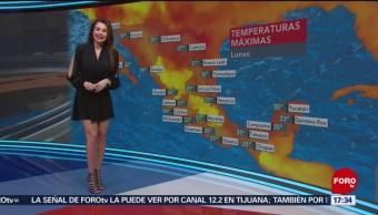 FOTO: El clima, con Mayte Carranco del 17 de junio de 2019