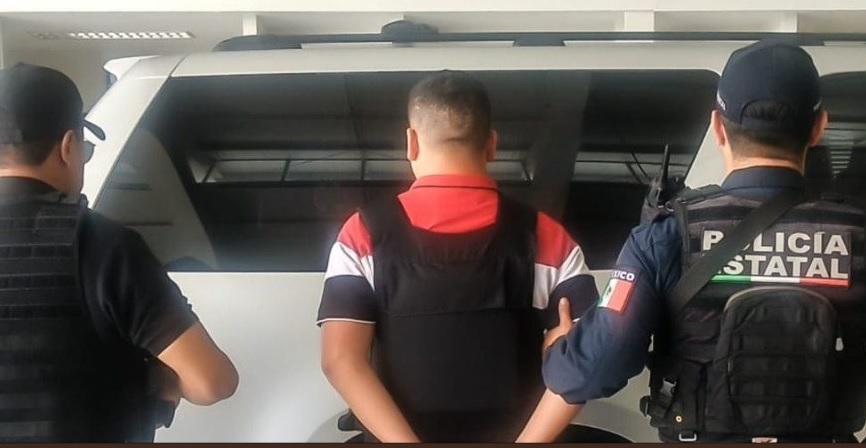 Foto: Detienen a El Güero Saba en Aguascalintes, 3 de junio 2019. Twitter @informativo18_
