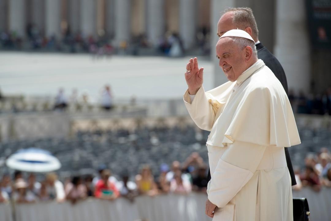 Foto: El papa Francisco en el Vaticano, 12 de junio de 2019, Vaticano