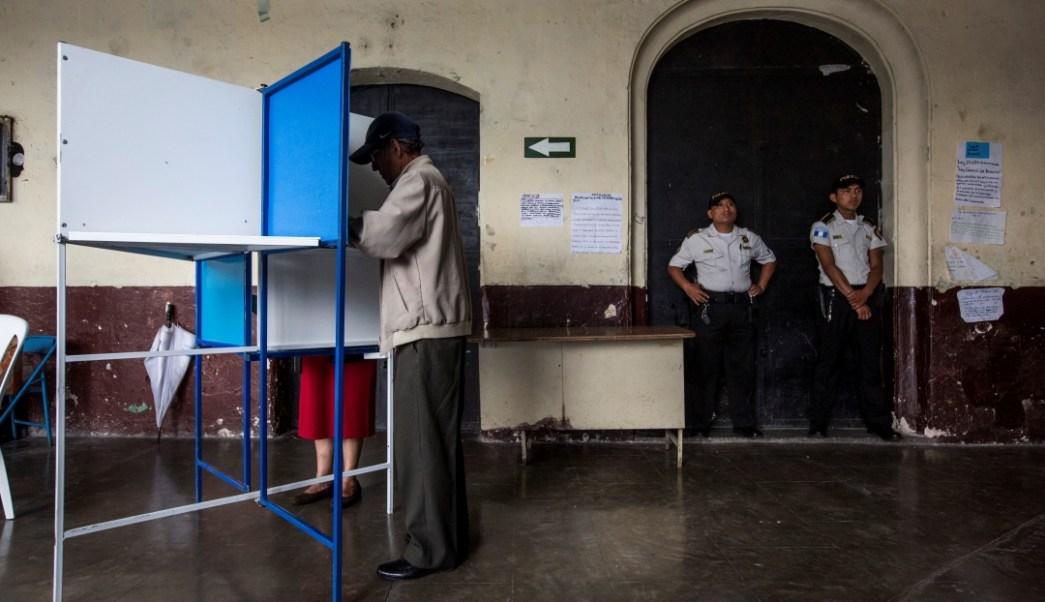 Foto: Elecciones en Guatemala, 17 de junio de 2019, Guatemala