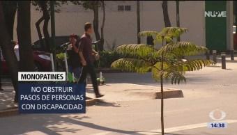 Foto: Empresas de monopatines pagarán por usar espacio público en CDMX