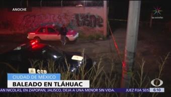 Encuentran hombre muerto en calles de Tláhuac