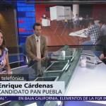 Enrique Cárdenas admite derrota en Puebla