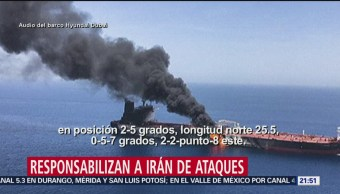 Foto: Escala Tensión Estados Unidos Irán Ataques Buques 14 Junio 2019