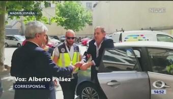 Foto: España niega libertad a presidente de Altos Hornos de México