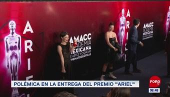 """#EspectáculosenExpreso: Polémica en la entrega del Premio """"Ariel"""""""