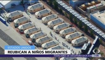 EU reubica a 300 niños detenidos en un centro de Texas