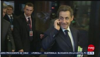 Foto: Expresidente Francia Nicolas Sarkozy Juicio Corrupción 19 Junio 2019