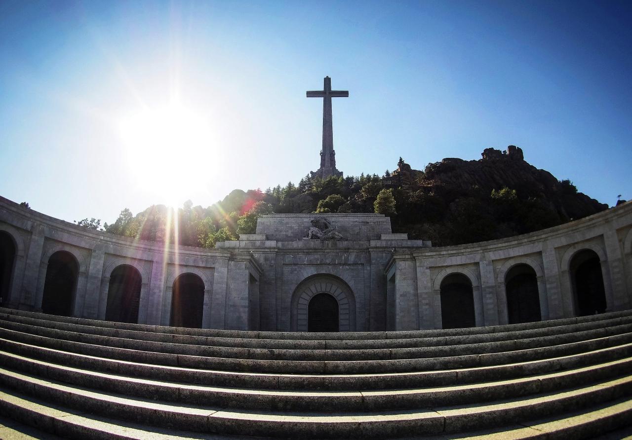 Foto: Fachada Valle de los Caídos, 23 de septiembre de 2018, España