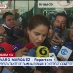 Familia de Norberto Ronquillo pide no politizar caso del estudiante