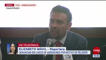 Fieles de la iglesia 'La Luz del Mundo' han recibido agresiones, dice Silem García