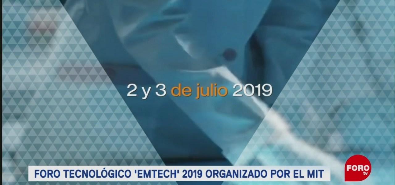 FOTO: Foro de tecnologías emergentes EmTech 2019