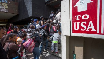 Foto: Cientos de migrantes intentan obtener asilo en Estados Unidos. El 29 de abril de 2018
