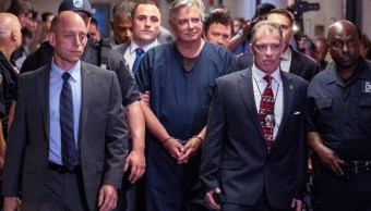 Foto: Paul Manafort, exjefe de campaña de Donald Trump, es trasladado para su comparecencia en una corte de Nueva York, EEUU. El 27 de junio de 2019