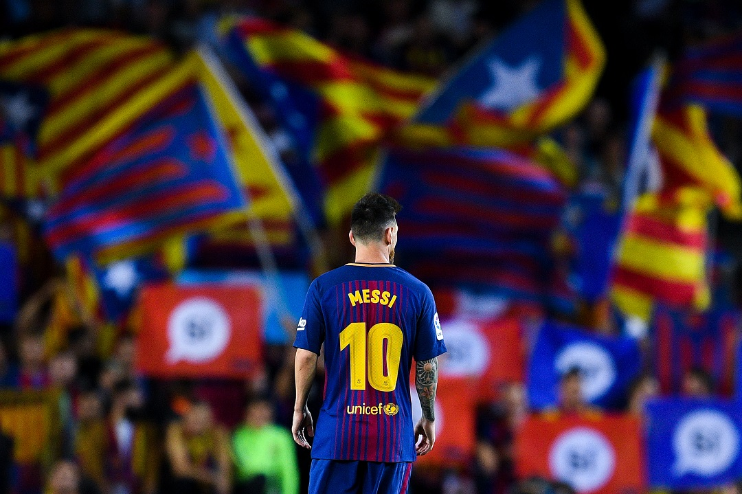 Foto: Lionel Messi durante el partido FC Barcelona contra SD Eibar. El 19 de septiembre de 2017