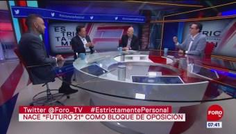 'Futuro 21', fundación que buscan ser contrapeso de AMLO, dice Fernando Belaunzarán