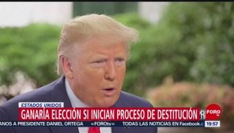 FOTO: Ganaría elección si inician proceso de destitución: Trump, 23 Junio 2019
