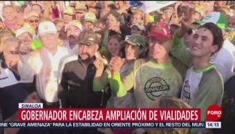 FOTO: Gobernador encabeza ampliación de vialidades en Sinaloa, 15 Junio 2019