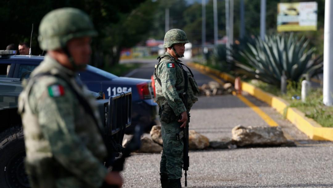 Miembros de la Guardia Nacional, 27 junio 2019