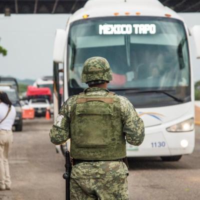 Guardia Nacional resguardará frontera sur, no marines: Ebrard