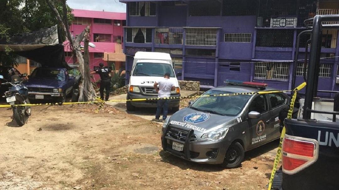 Foto: matan a tres personas en un departamento en Acapulco, 7 de junio 2019. Noticieros Televisa