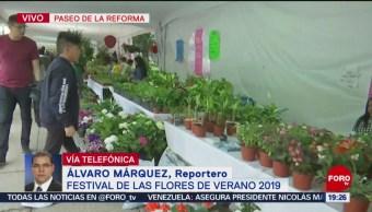 FOTO: Inauguran Festival de las Flores de Verano 2019,22 Junio 2019