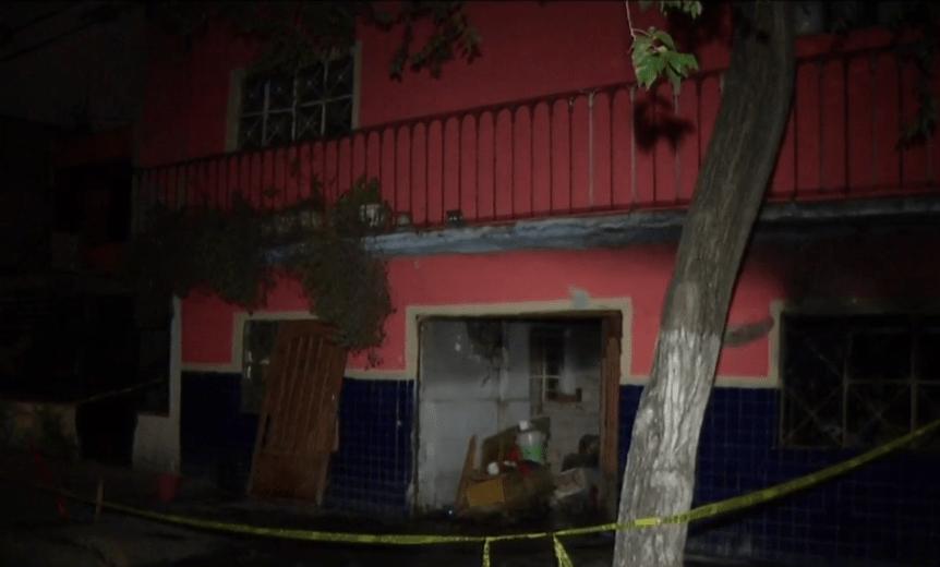 Foto: Ladrones incendian vivienda con mujer de la tercera edad adentro, 27 de junio de 2019, Ciudad de México