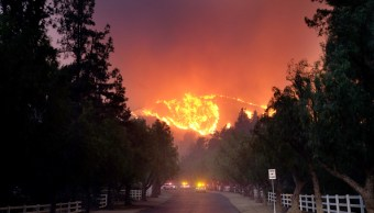 Foto: El incendio en Paramount Ranch, 7 junio 2019